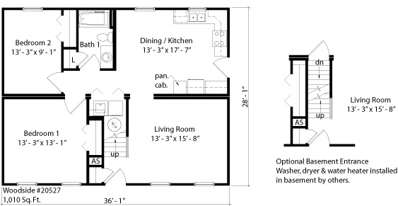 Woodside Homes Floor Plans: Better Living Woodside Cape Model