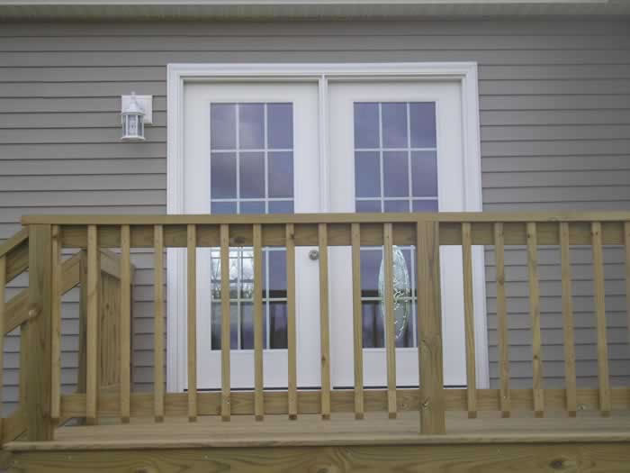 Exterior features gallery full glass french for Full glass french doors