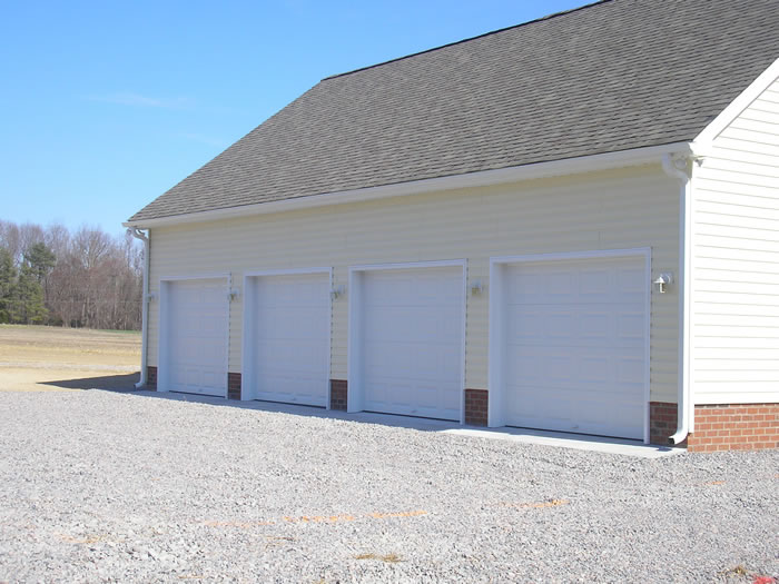 Garages garage 4 car for 4 stall garage