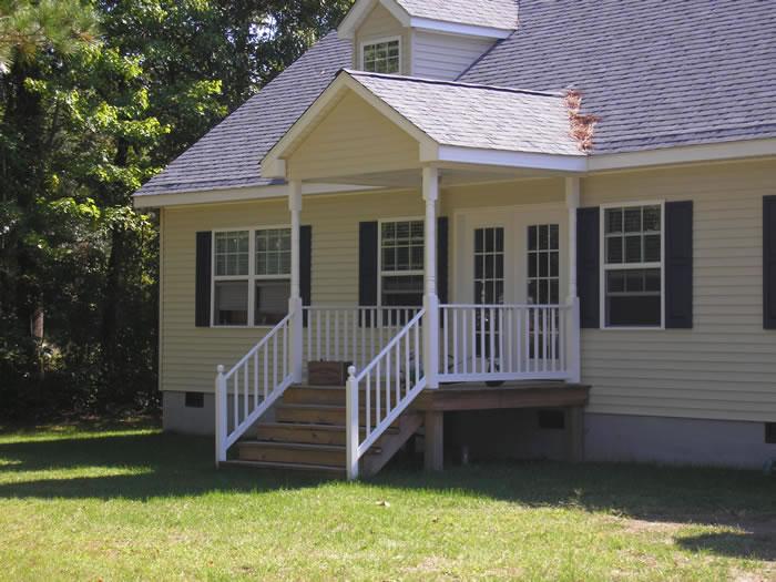 Porches And Decks Covered Porch