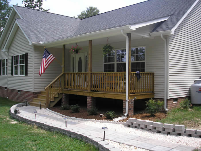 Mobile home porches and deck ideas - Mobile home deck designs ...